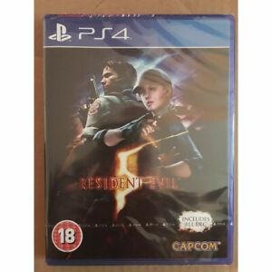 Resident-EVIL-5-HD-REMAKE-inc-tutti-i-DLC-PS4-Nuovo-e-Sigillato