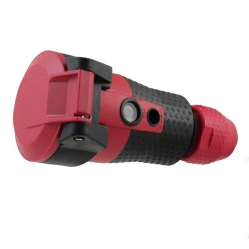 ABL Sursum 1589240 SCHUKOultra 2K Kupplung rot//schwarz 3 x 2,5 mm² 16A 250V IP54