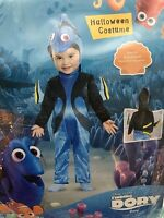 Disguise Girls Boys Finding Dory Deluxe Costume 12-18 12 18 Months Cute Tail