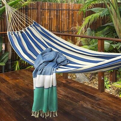 """88/"""" L x 28/"""" W x 25 Miles Kimball Outdoor Foldable Freestanding Portable Hammock"""