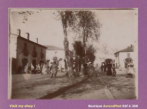 PHOTO-1890-ALGERIE-RUE-D-039-UNE-VILLE-A-IDENTIFIER-AFRIQUE-DU-NORD-A208