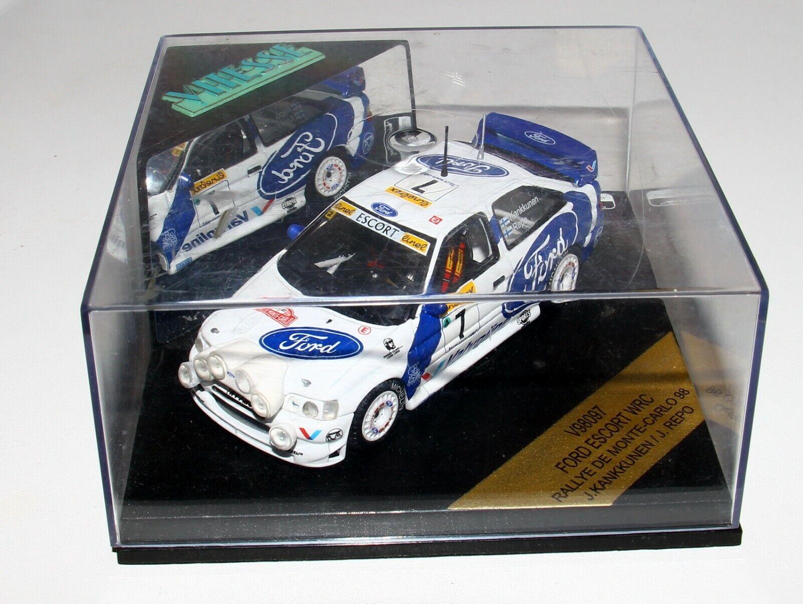 Vitesse Skid V98097 1 43 Ford Escort WRC Rallye Monte Carlo 1998 Kankkunen RARE