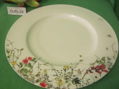 Œ assiette 28 cm Brillance fleurs sauvage de Rosenthal plus là