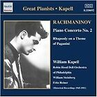 Sergey Rachmaninov - Rachmaninov: Piano Concerto No. 2; Rhapsody on a Theme of Paganini (2002)