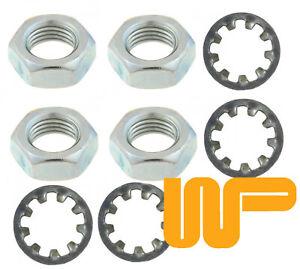 CLASSIC-MINI-REAR-BRAKE-HOSE-NUT-amp-WASHER-KIT-4-x-NT606041-GHF323