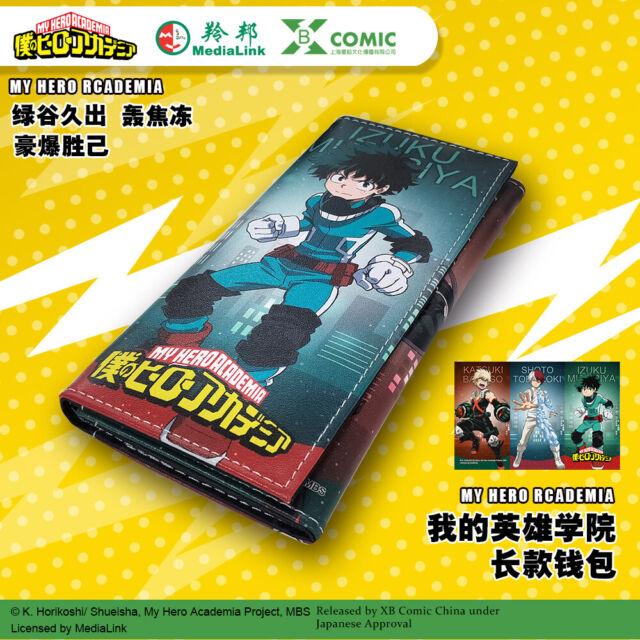 Anime My Boku No Hero Academia Wallet Gift Purse Long card ...