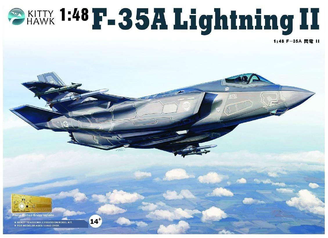◆ Kitty Hawk KH80103 1 48 F-35A Lightning II model kit