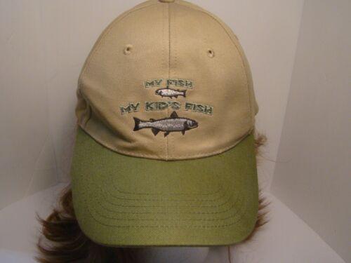 My Fish My Kid's Fish Fishing Hat Cap