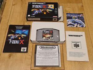 F Zero X ~ Nintendo 64 N64 Pal En Caja Y Completo Coleccionistas Perfecto Estado