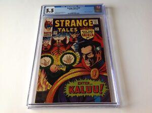 STRANGE-TALES-148-CGC-5-5-ORIGIN-ANCIENT-ONE-DOCTOR-STRANGE-KIRBY-MARVEL-COMICS