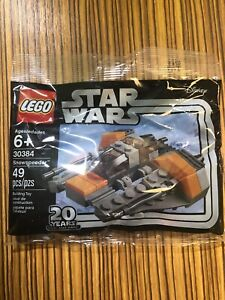 Lego-Star-Wars-20th-Anniversary-Mini-Snowspeeder-30384-Disney-Polybag-49-Pieces