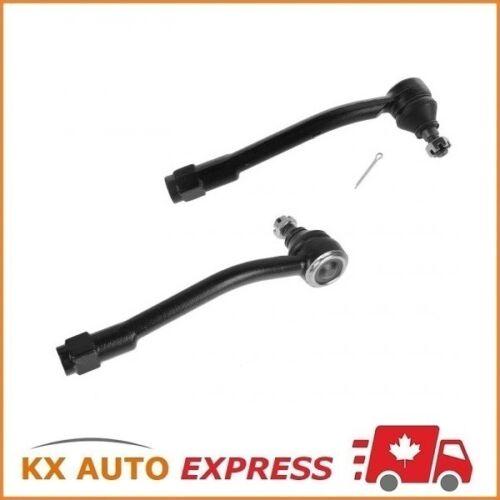 2X Front Outer Steering Tie Rod End for 07-09 Hyundai Entourage 06-14 Kia Sedona