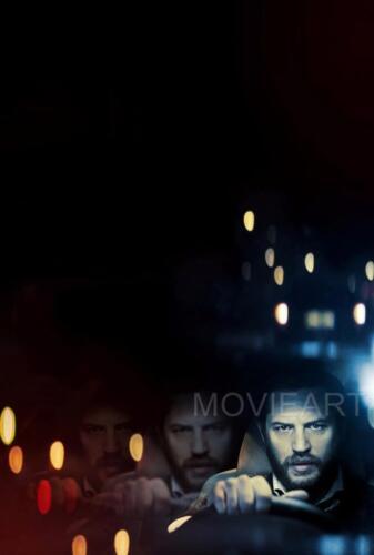 LOCKE TOM HARDY TEXTLESS MOVIE POSTER FILM A4 A3 ART PRINT CINEMA