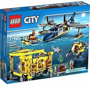 Details about 60096 DEEP SEA OPERATION BASE lego city town legos set NEW  airplane submarine