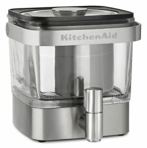 KitchenAid Cold Brew Coffee Maker, Brushed Stainless Steel, KCM4212SX