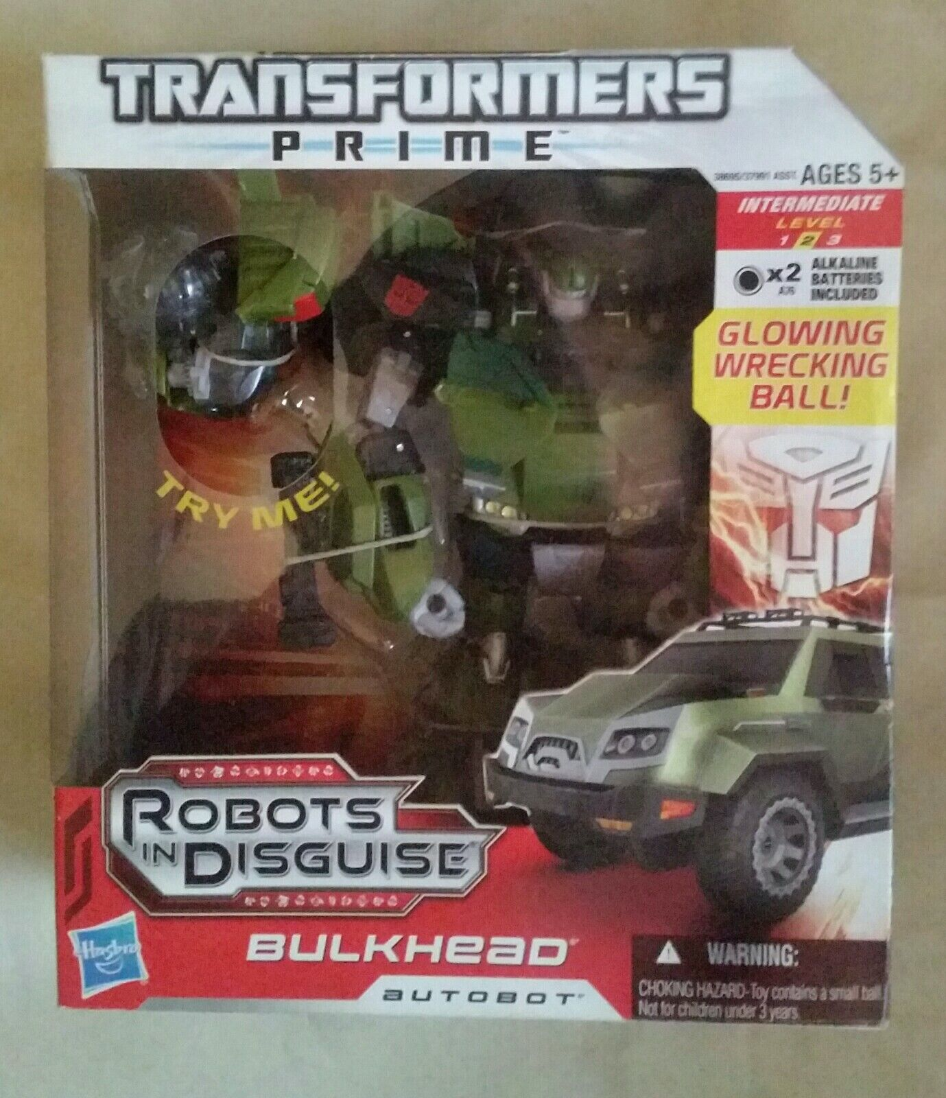 Transformatoren Prime Roboter in Verkleidung Bulkhead