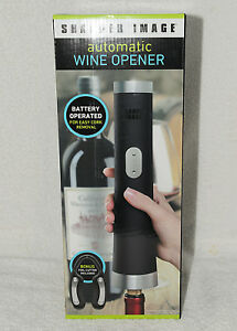 New Sharper Image Automatic Wine Bottle Opener Ebay
