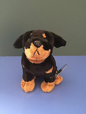 Webkinz Rottweiler  NWT  New with Tags and Unused Code