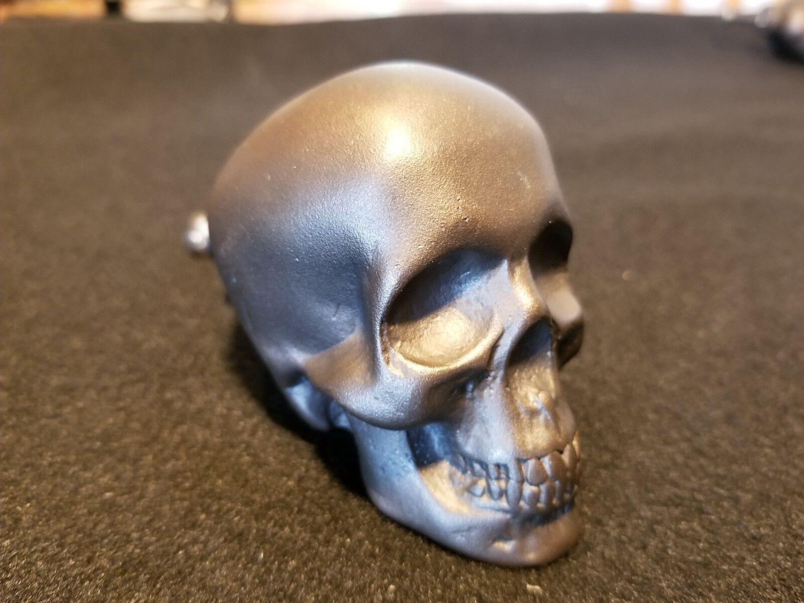 Bronze Skull Drawer Pull  Cabinet Door Knob