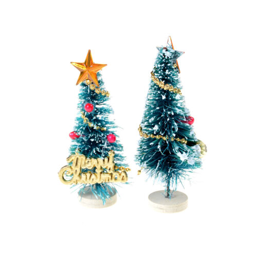 6.5cm High Doll House Christmas Tree DIY Miniature DecorPhotography Prop Gift Fz