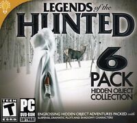 Legends Of The Hunted 6 Pack Pc Game Window 10 8 7 Vista Xp Computer Seek & Find