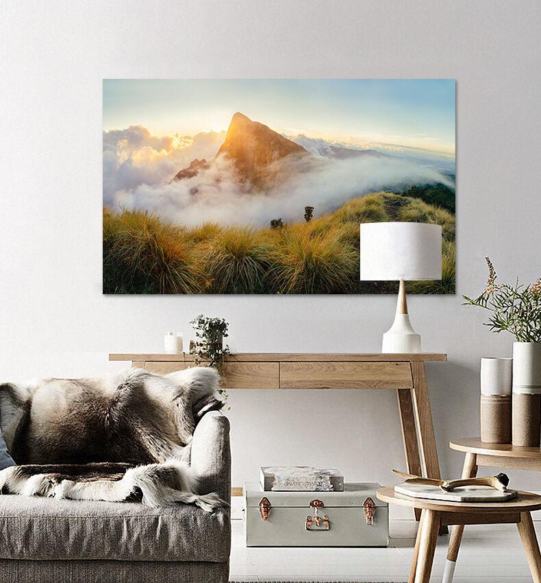 3D Himmel Berg 645 Fototapeten Wandbild BildTapete AJSTORE DE Lemon