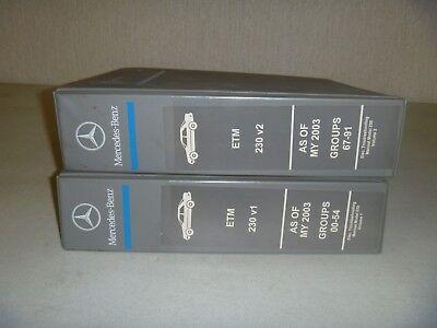 2003-2004 Mercedes Benz SL500 SL600 SL55 AMG Electrical ...