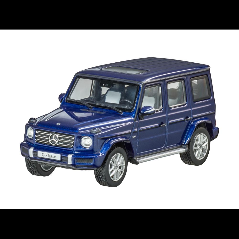 Mercedes Benz W 463 - 500 g Modèle 2018 bleu 1 43 Nouveau neuf dans sa boîte