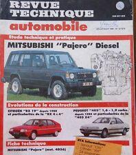 NEUF ! Revue technique 4X4 JEEP MITSUBISHI PAJERO DIESEL moteur 4D56 N° 517 518