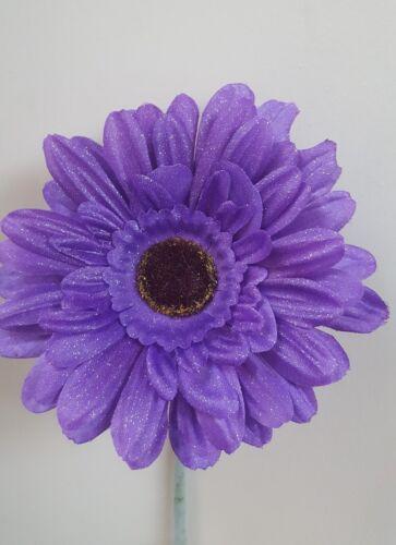 VW fleur pour votre tableau de bord violet Shimmer 13 cm Gerbera Beetle Universel