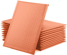 25 Pack Light Pink Bubble Padded Poly Mailers Envelopes Shipping Packaging Bags