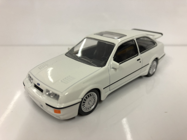 Ford Sierra RS Cosworth 1986 White 1:43 Norev Jet Car 270559 Boxed