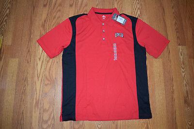 NEW Mens CHAMPION UNLV Red Short Sleeve Crew NCAA Shirt L Large