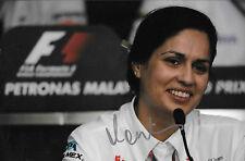 Monisha Kaltenborn SIGNED  F1 Sauber Team Principal Portrait
