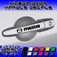 4x Mazda Door Handle Decal Sticker Logo Mazda 3 Mazda 6 CX-5 Miata