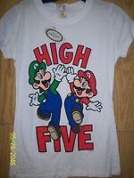 Nintendo Mario & Luigi Hi-five Girls T-shirt