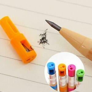 3x-Mechanical-Pencil-2-0mm-Lead-Refill-Automatic-Random-Writing-Sharpener-F-C4B9