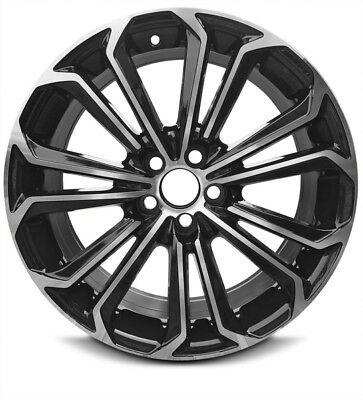 Road Ready Car Wheel For 2014-2016 Honda CR-V 17 Inch 5 Lug Gray Aluminum Rim Fits R17 Tire Full-Size Spare Exact OEM Replacement