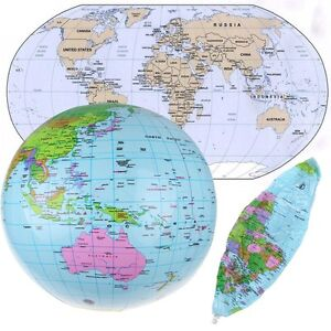 image is loading inflate inflatable earth tellurion world globe map pool