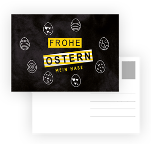 15-Osterkarten-Oster-Karten-Frohe-Ostern-MEIN-HASE-Postkarte-Ostern