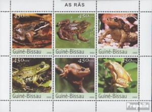 Sensible Guinea-bissau 2458-2463 Sheetlet Unmounted Mint Never Hinged 2003 Anurans Stamps