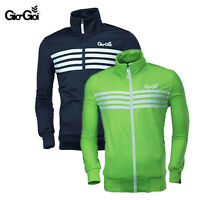 *GIO GOI MENS FASHION RAKER TRACKSUIT TRACKY JACKET TOP BLUE GREEN SIZES S-XL