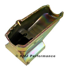 Small Block Chevy Cheater Style Oil Pan 305 327 350 LH Dipstick Circle Track SBC
