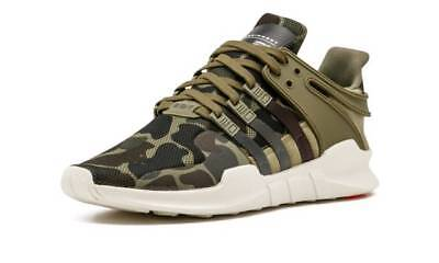 adidas Originals EQT Support ADV Camouflage Green Army Shoes Last Sizes DS RARE