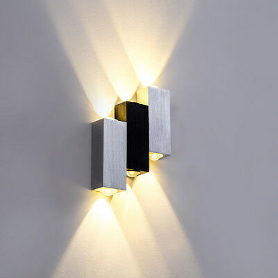 Up//Down 3W//6W LED COB Wall Sconce Light High Power Dimmable//N Lamp Fixture Hotel