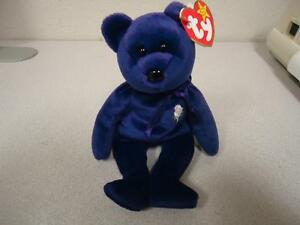 Princess Diana Ty Beanie Baby Bear 1997 P.E. Pellets China Rare Mint ... b9790ff12f49