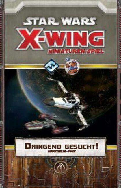 Estrella guerras Ala-X Urgente Gesucht   Estensione (Tedesco) Feccia Most Wanted  forma unica