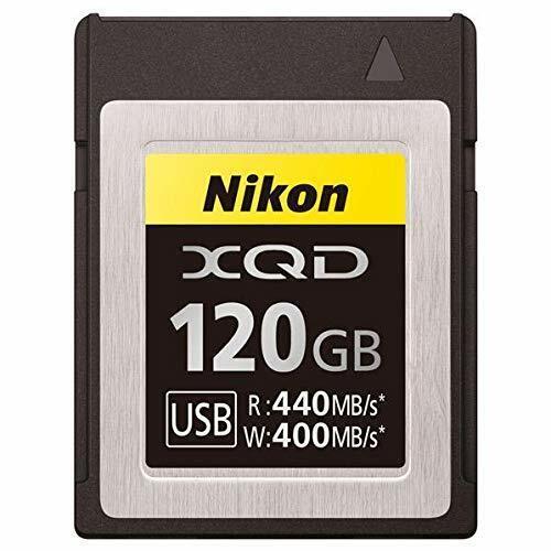 Nikon MC-XQ120G XQD la tarjeta de memoria 120 GB para cámara digital sin espejo accesorio
