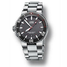 73376534183MB ORIS Aquis Red Limited Edition Grey Dial Men's Watch