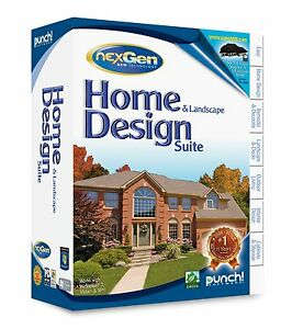 Punch home land design nexgen for pc new sealed for Punch home design